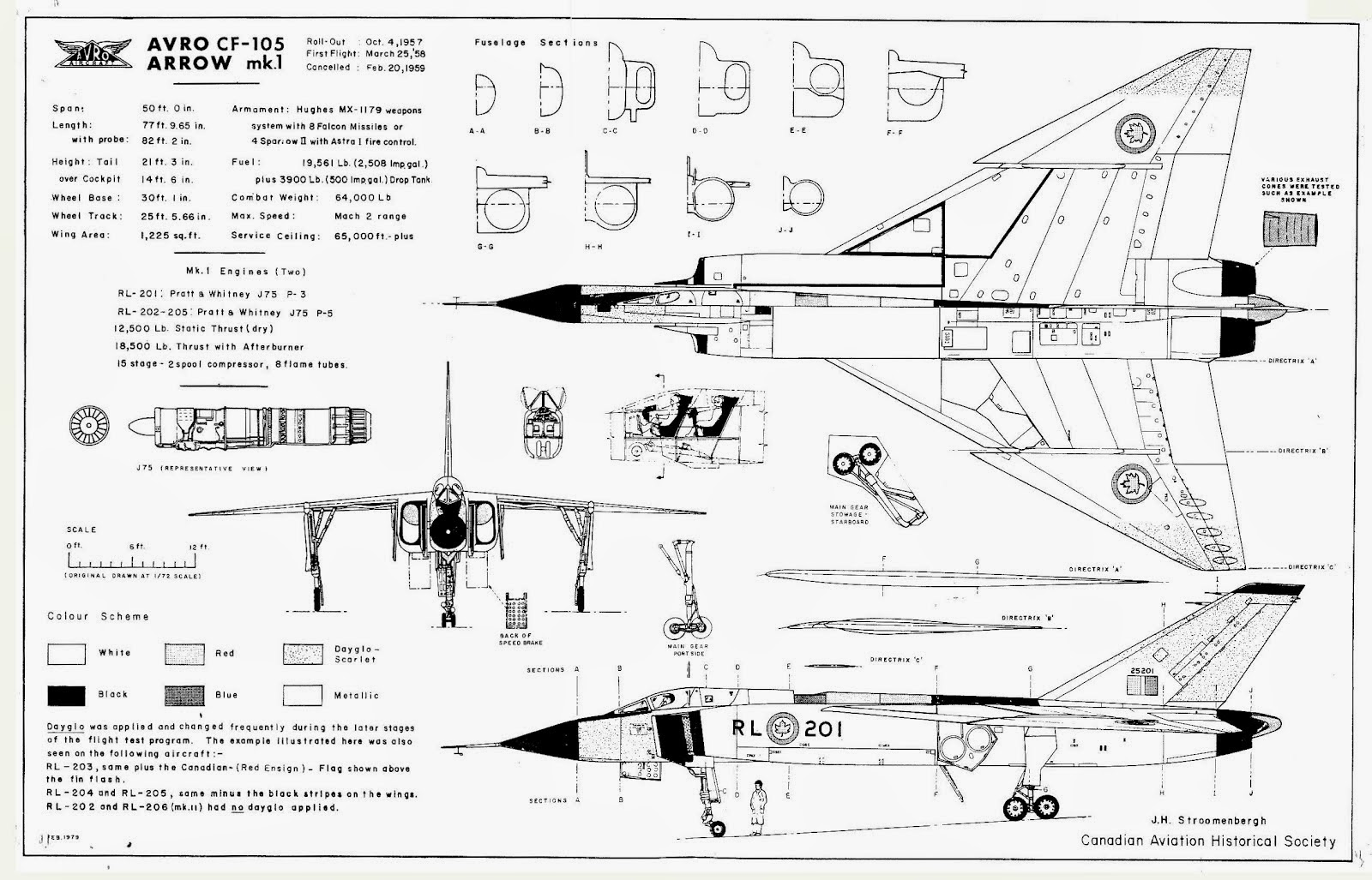 Avro Cf 105 Arrow And Its Variants