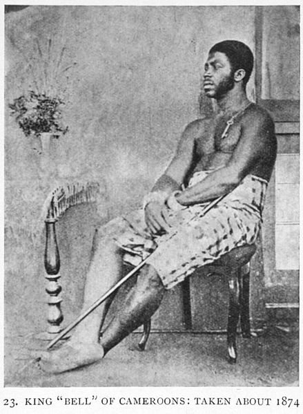 439px King Bell of Cameroons%252C 1874 Duala (Douala) People:  One Of The Cameroonian Coastal Ethnic Group To Have Early Contact With Europeans