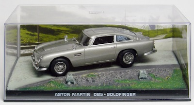 Autos a escala colección James Bond Aston Martin DB5