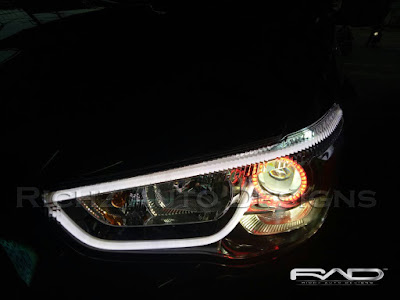 HEADLAMP OUTLANDER