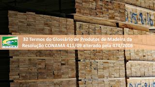 32 Termos do Glossário de Produtos de Madeira