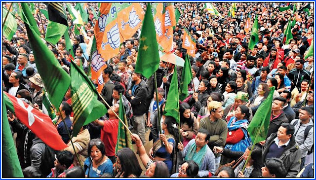Gorkha Unity rally in Darjeeling before loksabha election 2019