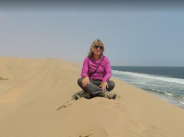 sulle dune di sandwich Harbour