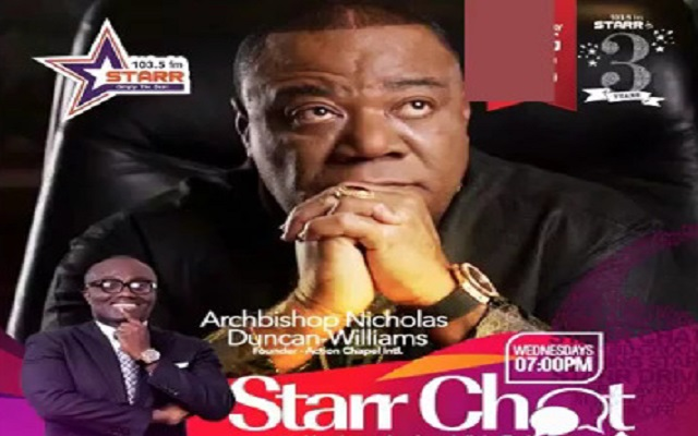 Archbishop Nicholas Duncan-Williams interview with Bola Ray