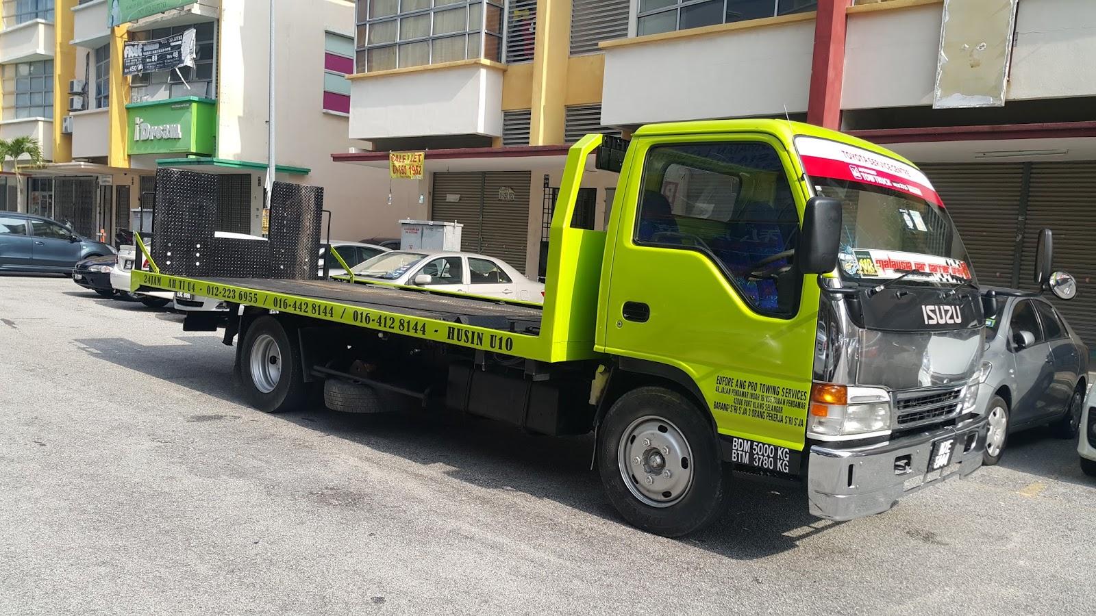Klang Towing Service | Towing Service Selangor/KL
