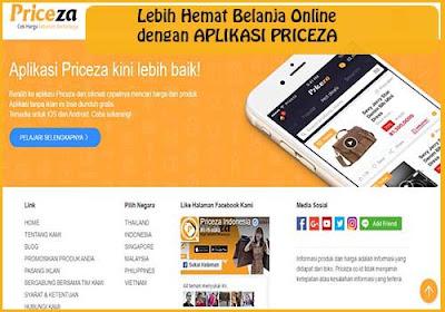 Lebih Hemat Belanja Online Dengan Aplikasi PRICEZA
