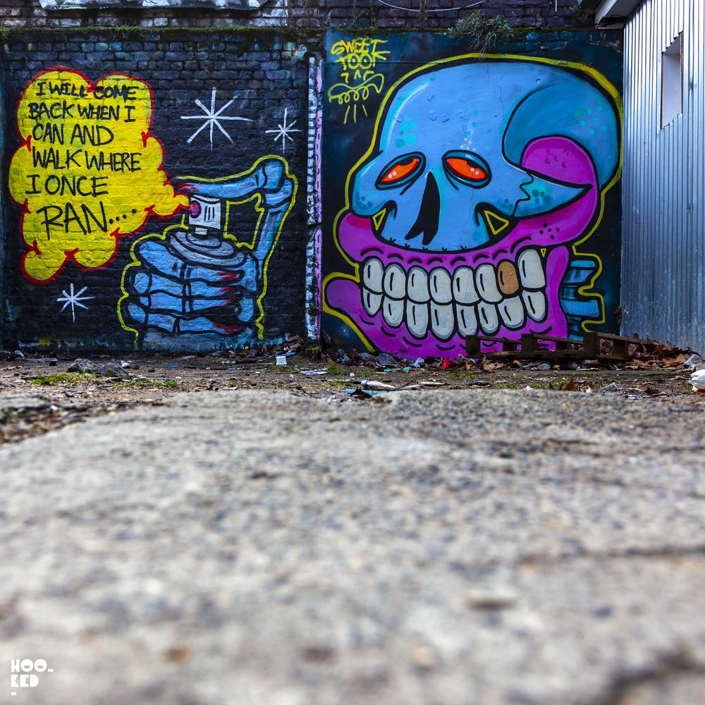 Sweet Toof -  Brick Lane Mural Seven Star Yard
