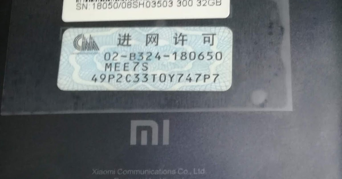 The Redmi Note 5 Mi Account Remove Firmware {Forum Aden}