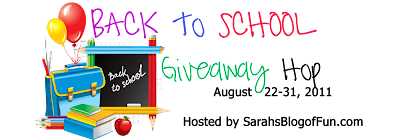 Back To School Giveaway Hop