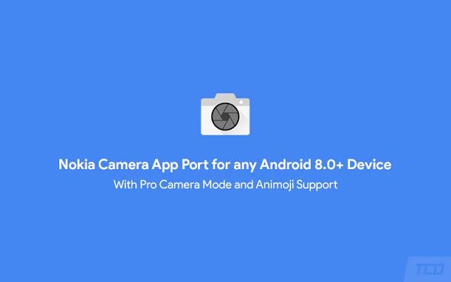 Nokia Camera App Port Android 8.0+
