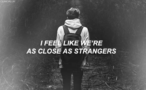 Close As Strangers