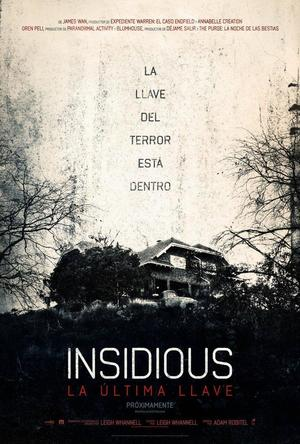 Poster Insidious: The Last Key 2018
