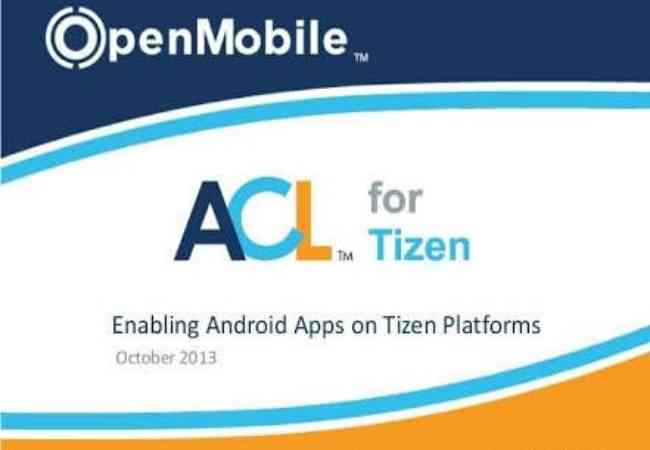 ACL for Tizen Tpk Terbaru
