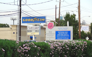 GOODYEAR (signage) Upper Kirby Road Project Sign