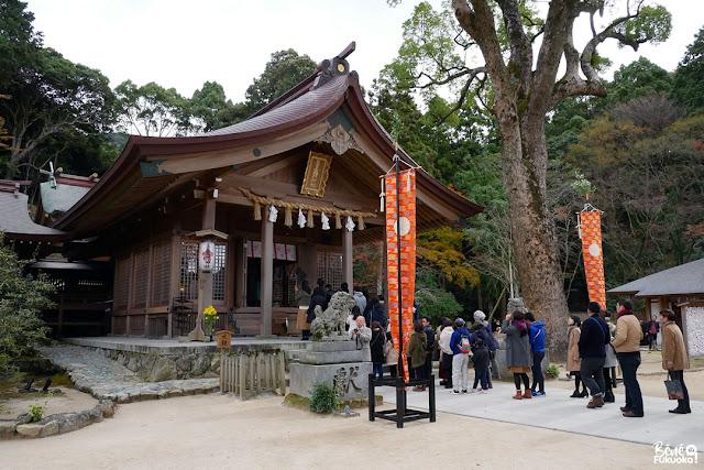 宝満宮 竈門神社、太宰府、福岡