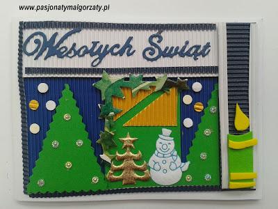 kartki świąteczne ręczni robione