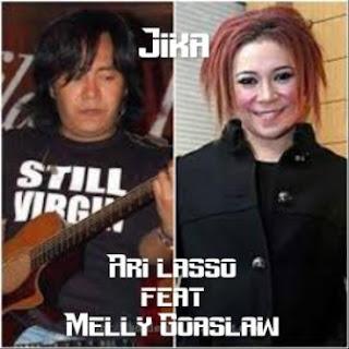 Melly Goeslaw feat Ari Lasso - Jika ( Karaoke )