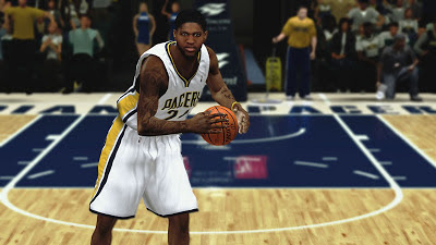 NBA 2K13 Paul George Cyberface Patch