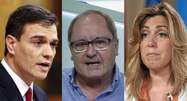 El número dos de Susana Díaz intentó agredir a Pedro Sánchez en el Comité Federal