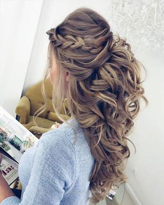 peinado elegante para fiesta de gala