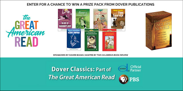 Giveaway The Great American Read Blog Tour And Dover Books