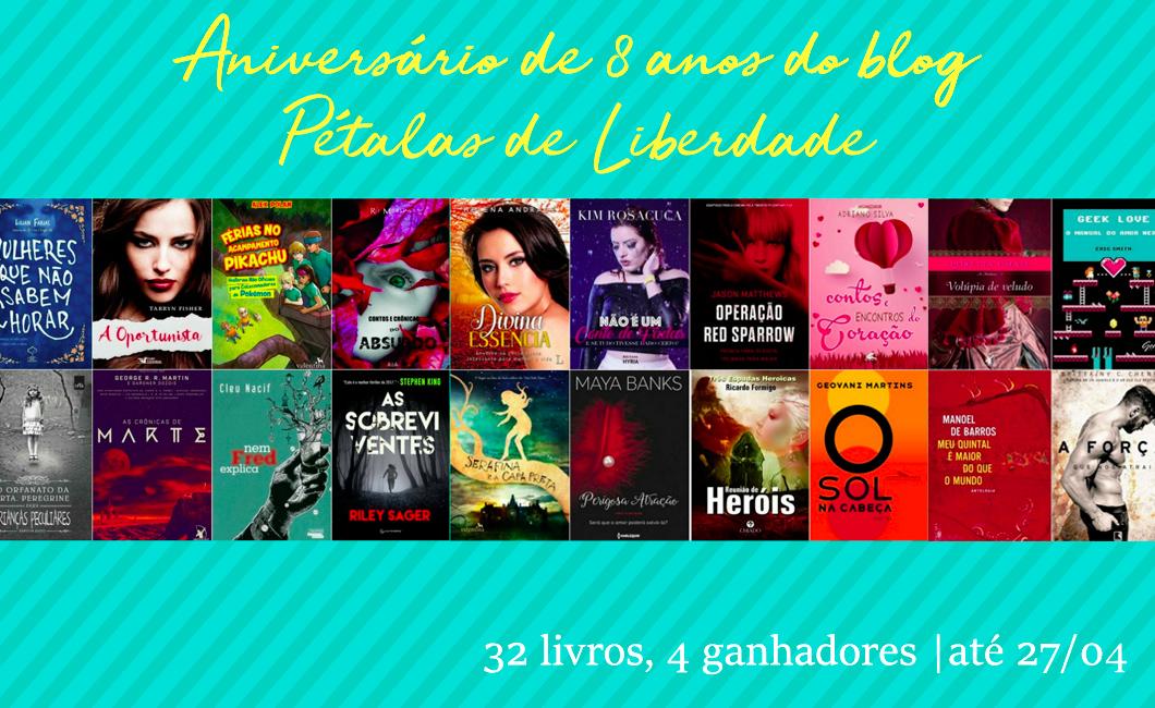 Sorteio: concorra a 32 livros! | Promoção
