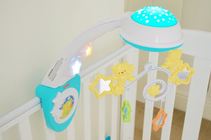 Review Fisher Price Sparkling Symphony Mobile Love