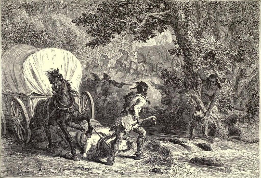 Creek Indians Farming