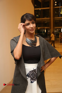 Actress Lakshmi Manchu Pos at Asian Para Badminton Championship Winners Felicitation Ceremony  0036.JPG