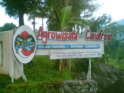Lokasi wisata Candirejo