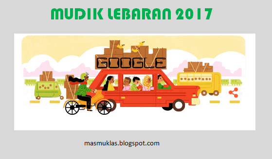Doodle Mudik Lebaran 2017
