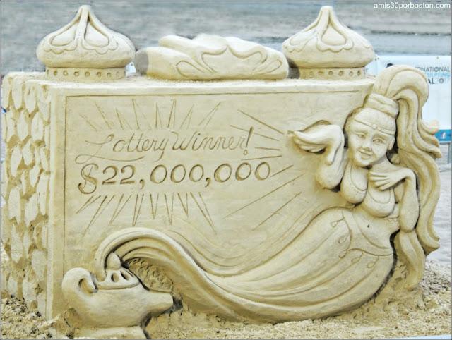 Esculturas de Arena de Revere Beach: Wishful Thinking de Deborah Barrett/Cutulle