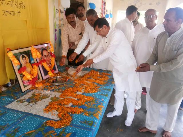 BJP leader Rajesh Nagar remembered Baba Saheb, Dr. Bhimrao Ambedkar
