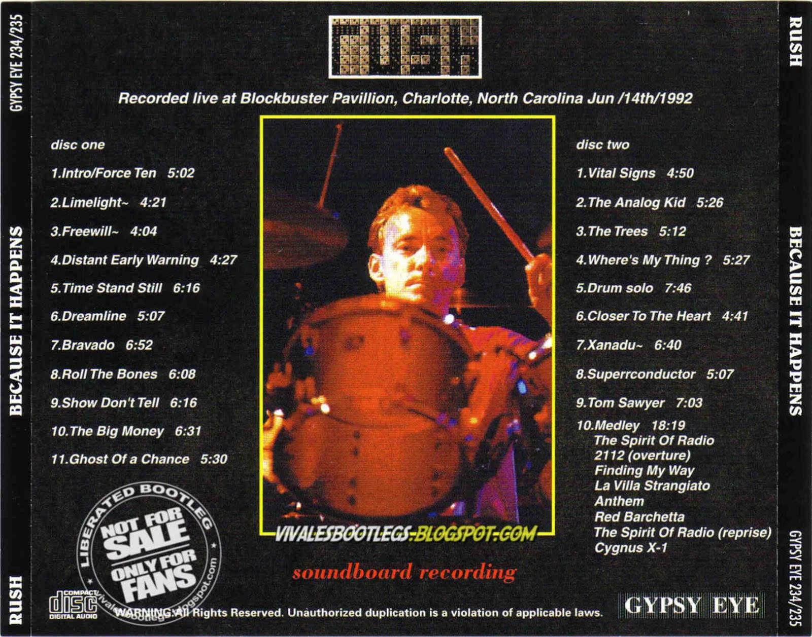 rush bootlegs download - efirawomenm