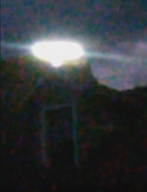 Luce di un UFO in Colorado