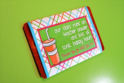 Free Sonic Gift Card Printable