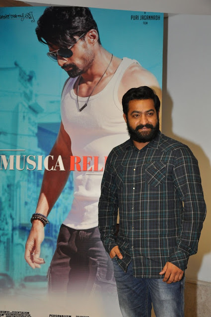 Jr NTR at ISM Movie Audio Launch HD Photos