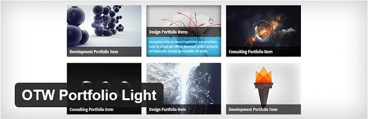 OTW Portfolio Light plugin