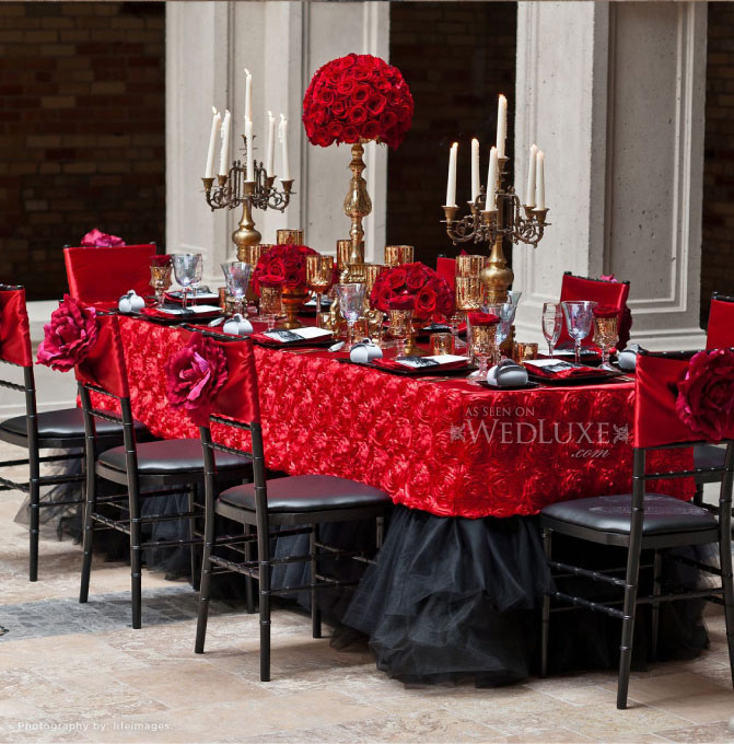 The Wedding Decorator: Dramatic Spanish Style For Weddings