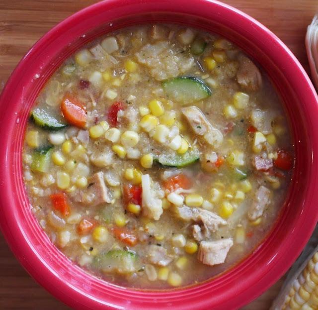 PaperDaisyKitchen: Healthy Corn Chowder