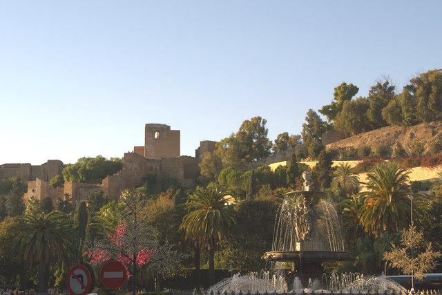 Zamek Gibralfaro (hiszp. Castillo de Gibralfaro)