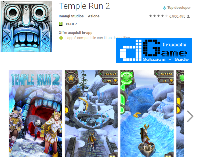 Trucchi Temple Run 2 Mod Apk Android v1.32