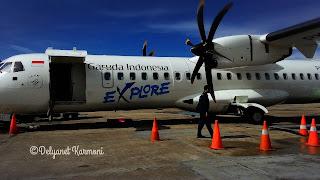 Pengalaman Terbang Bersama Garuda Indonesia