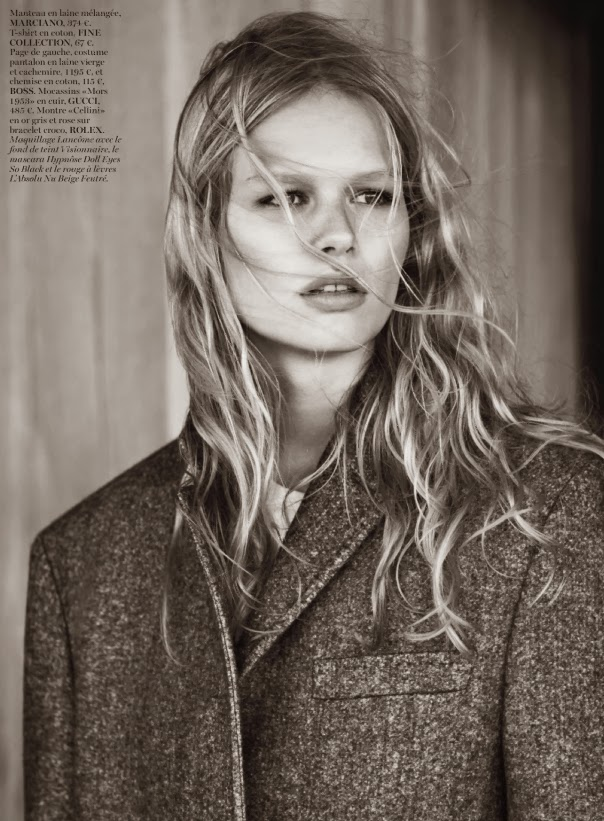 Anna Ewers By Karl Lagerfeld For: Inoubliablemodelarmy: No Time Like The Present