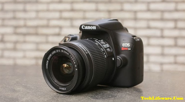 10. Canon EOS Rebel T6 Digital SLR Camera Kit with EF-S 18-55mm f/3.5-5.6 IS II Lens