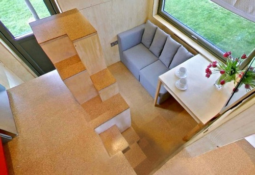 the cube house micro home