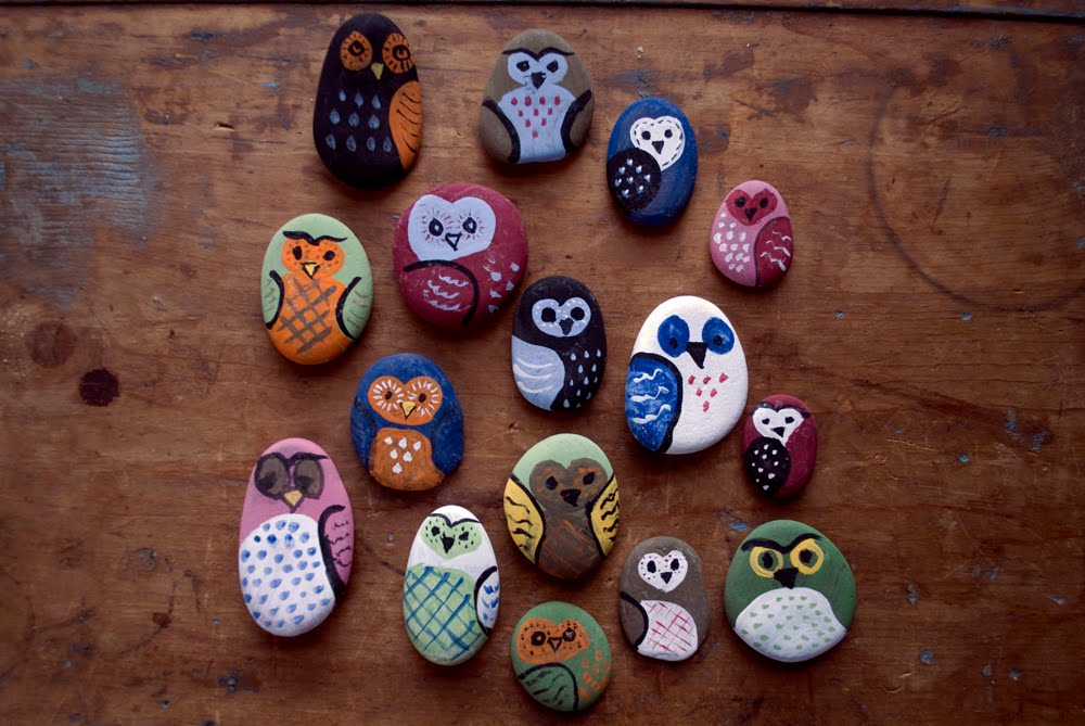 Once Upon My Life: Mike Made It: Owl Rocks