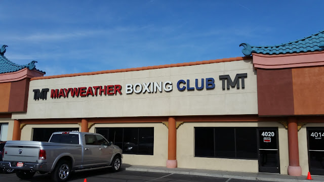"Mayweather Boxing Club, located ""Inside Chinatown"" - the hard to find alleyway-like Schiff Rd., Chinatown Vegas"