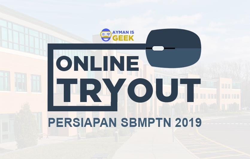 Situs Tryout Online SBMPTN 2019 Gratis