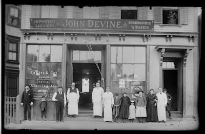 John Devine's saloon